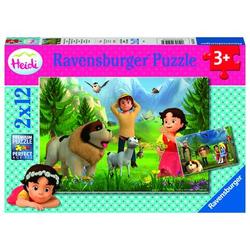Ravensburger Puzzle Heidi: Gemeinsame Zeit in den Bergen
