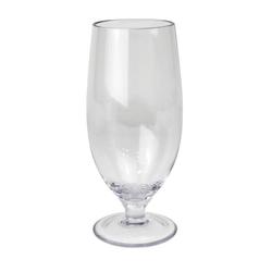 GIMEX Bierglas Camping Geschirr Mehrweg Kunststoff Pilsglas Bierglas Tulpe klar einzeln 0,5l