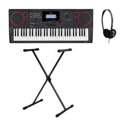 Casio CT-X5000 Midi Keyboard Set inkl. Keyboardständer & Kopfhörer