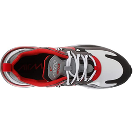 Nike Men's Air Max 270 React black-white-red/ white, 43
