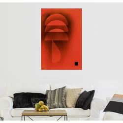 Posterlounge Wandbild, Gedämpfte Glut 40 cm x 60 cm