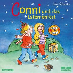 Conni und das Laternenfest als Hörbuch CD von Liane Schneider