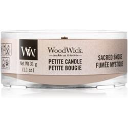 Woodwick Sacred Smoke Kerzenhalter für Votivkerzen mit Holzdocht 31 g