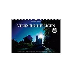 Vierzehnheiligen (Wandkalender 2021 DIN A4 quer) - Kalender