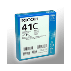 Ricoh Gel Cartridge 405762 GC-41C  cyan