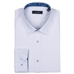 Lavard Klassisches weißes Herren Hemd 93006