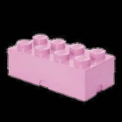 LEGO® Aufbewahrungsstein mit 8 Noppen in Rosa