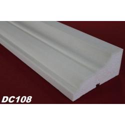DC108 Fensterbankprofil Fenster Zierprofil 160x80mm Fassadenprofil Profil Leiste 200cm