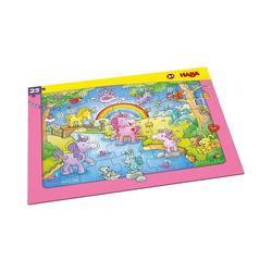 Haba Puzzle HABA 303706 Rahmenpuzzle 25 Teile - Einhorn, Puzzleteile