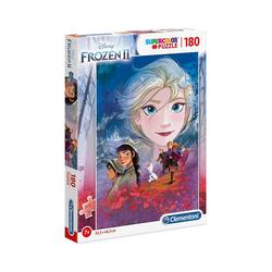 Clementoni® Puzzle Puzzle 180 Teile Supercolor Die Eiskönigin 2, Puzzleteile