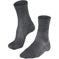 Falke Stabilizing Wool Laufsocken asphalt melange, 39-41