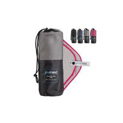 JOURNEXT Reisehandtuch Mikrofaserhandtuch, schnelltrocknend, ultraleicht, antibakteriell (1-St) grau S (80x40cm)