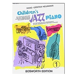 Childrens Jazz Piano - Buch