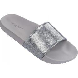 ZAXY SNAP GLITTER SLIDE Sandale 2018 glitter silver - 35/36
