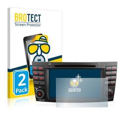 2x BROTECT® Matte Displayschutzfolie für Xomax XM 02Z
