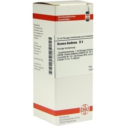 ARANEA DIADEMA D 4 Dilution 50 ml