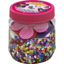 Hama Dose Bunt+farbige Platten 4000Stück 2051