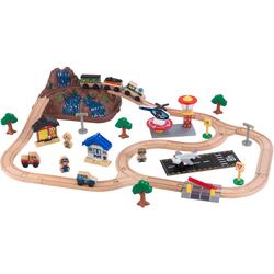 KidKraft Spielzeug-Eisenbahn Bucket bunt Kinder Ab 3-5 Jahren Altersempfehlung