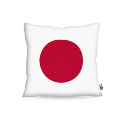 Kissenbezug, VOID, Japan Flagge Fahne Fan-Outdoor WM Olympia Sport 40 cm x 40 cm