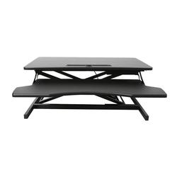 Ribelli Eckschreibtisch, Höhenverstellbarer Schreibtischaufsatz Sitz-Steh-Schreibtisch höhenverstellbar
