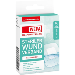 WEPA Wundverband wasserdicht 7,2x5 cm steril