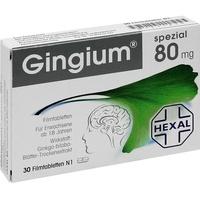 Hexal GINGIUM spezial 80 mg Filmtabletten
