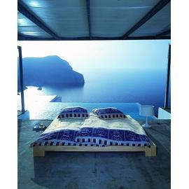 BASSETTI Oplontis blau 135 x 200 cm + 80 x 80 cm