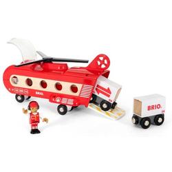 Brio Eisenbahn-Transporthubschrauber 33886
