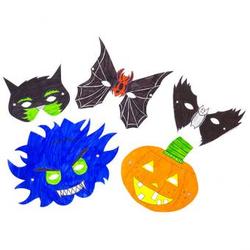 Masken zum Selbstgestalten