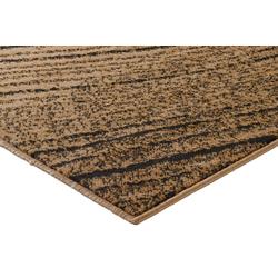 Teppich Baumscheiben Optik braun ca. 80/150 cm