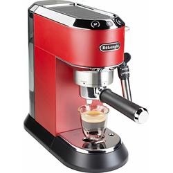 Siebträgermaschine »EC 685.R Dedica«, 1350 Watt, 15 Bar, Kaffeemaschine, 235478-0 rot rot