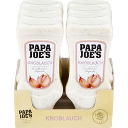 Papa Joes Knoblauch Sauce 300 ml, 8er Pack
