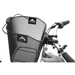 Prophete Fahrradkorb schwarz Rad-Ausrüstung Radsport Sportarten