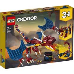 LEGO® Puzzle LEGO® Creator 31102 Feuerdrache, Puzzleteile