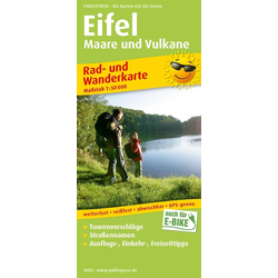 Eifel Maare und Vulkane 1 : 50 000