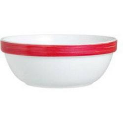 Stapelschale 12 cm Form Brush - Red / Rot Arcoroc