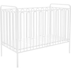 Kinderbett Vintage 150 aus Metall, weiss