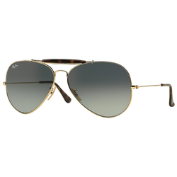 RAY BAN Sonnenbrille OUTDOORSMAN II RB3029