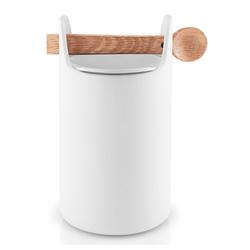 Eva Solo Aufbewahrungsbox Toolbox mit Löffel Eiche/Keramik Weiß H 20 cm, Keramik, (1-tlg)
