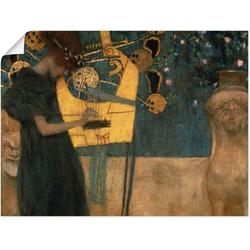 Artland Wandbild Die Musik. 1895, Musiker (1 Stück) 60 cm x 45 cm