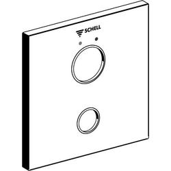 Schell Frontplatte W-SC-M chrom