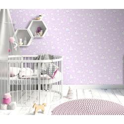 Erismann Vinyltapete, Mustertapete, 10161-05 Sweet and Cool Wandtapete Muster/Motiv rosa Tapete