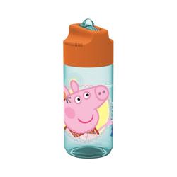 p:os Trinkflasche Tritan-Trinkflasche Peppa Pig, 430 ml