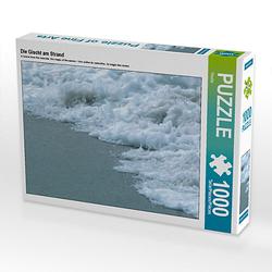 Die Gischt am Strand Lege-Größe 64 x 48 cm Foto-Puzzle Bild von Youlia Puzzle