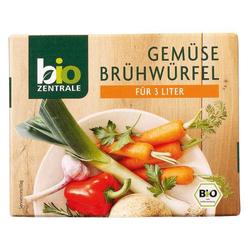 biozentrale Gemüsebrühwürfel, 12er Pack (12 x 60 g)