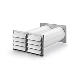 E-Klima A/Z 150, Mauerkasten, Ab- und Zuluftmauerkasten