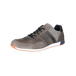 Freizeit-Schnürer Freizeit-Sneaker COX grau-dunkel