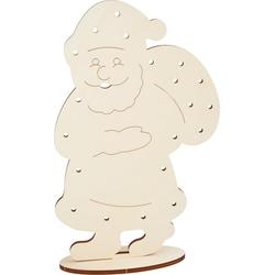 VBS Dekofigur Weihnachtsmann, 31 cm x 51 cm
