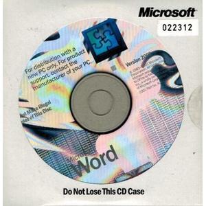 MS Word 2002/XP OEM Vollversion englisch neu