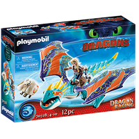 Playmobil Dragons Dragon Racing: Astrid und Sturmpfeil 70728